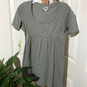 Heritage Grey Long Top Size L T-Shirt